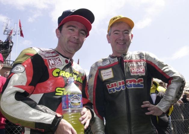 Joey Dunlop y Robert Dunlop