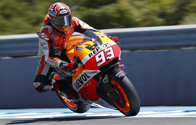Marc Marcquez se hace con la Pole de MotoGP en Jerez