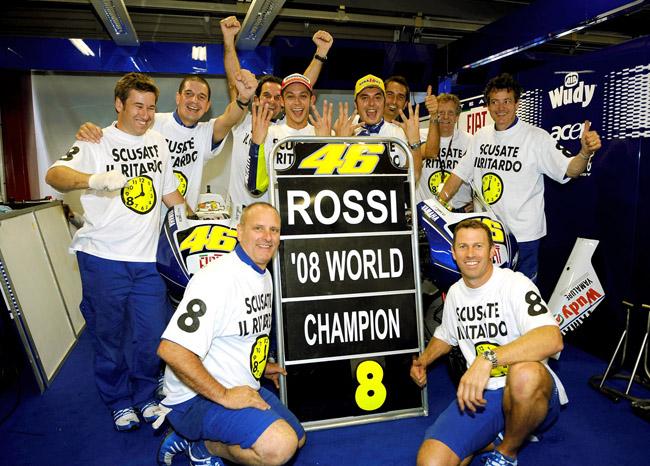Valentino Rossi Campeon del Mundo de MotoGP 2008