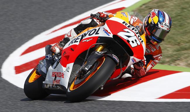 GP Catalunya - Pole de MotoGP para Dani Pedrosa