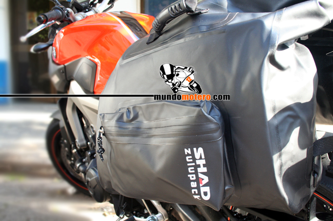 Prueba - Alforjas laterales impermeables de SHAD SW42
