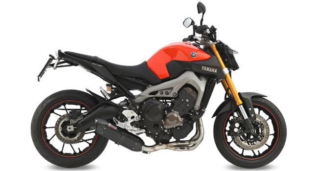escapes para la Yamaha MT-09 de MIVV