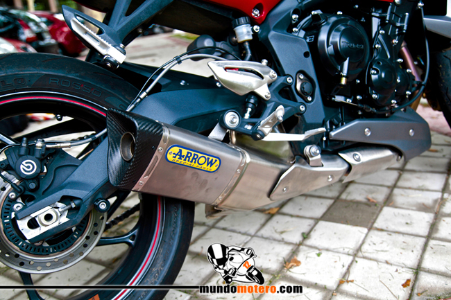 Triumph Street Triple R ABS - Prueba a fondo