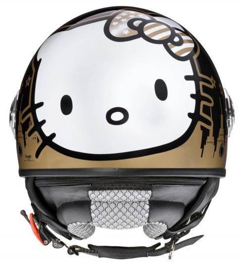 casco jet Hello Kitty