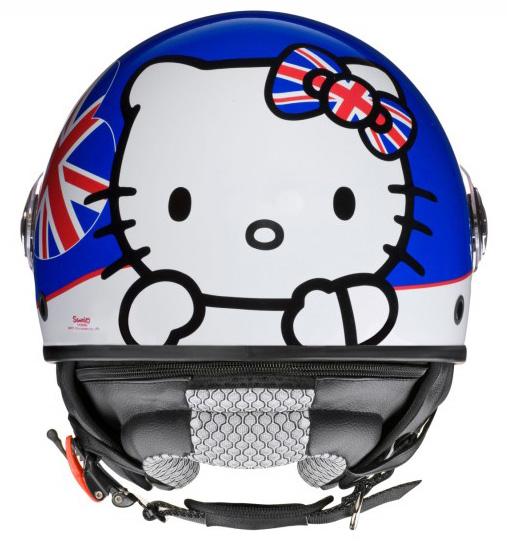 casco moto Hello Kitty