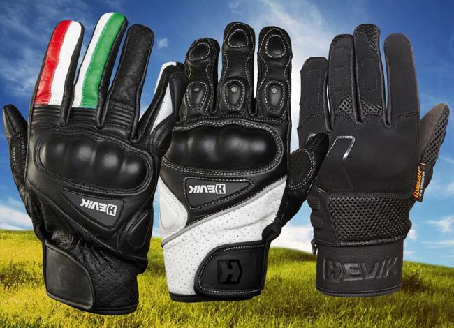 guantes de moto de verano Hevik