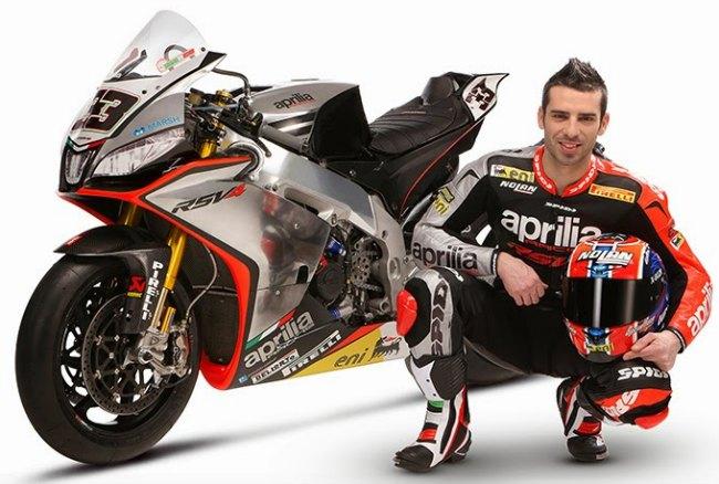 Aprilia MotoGP 2015 y el regreso de Marco Melandri al Mundial de Motociclismo