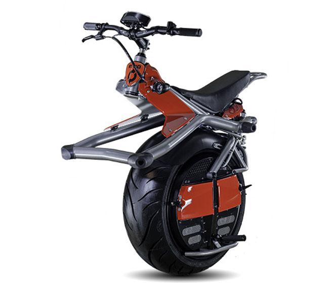 RYNO, una moto electrica con una solo rueda