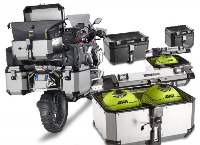 maletas de moto de aluminio GIVI