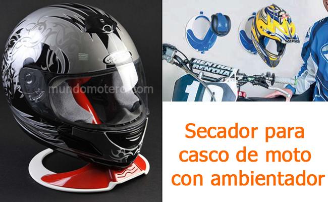 Secador para casco de moto conambientador