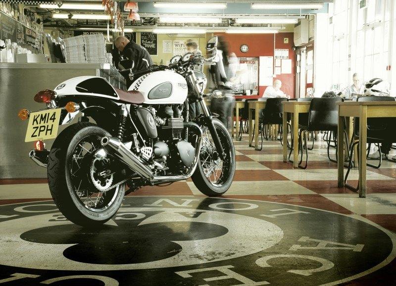 Triumph Thruxton Ace - motos cafe racer