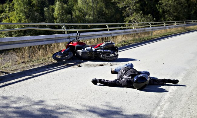 muertes por accidente en moto