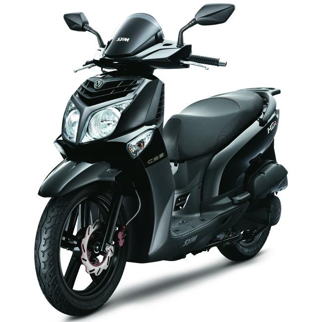 scooter rueda alta SYM HD2 125 CBS