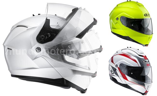 Cascos de moto modulares - Nuevo HJC IS-MAX II 2015