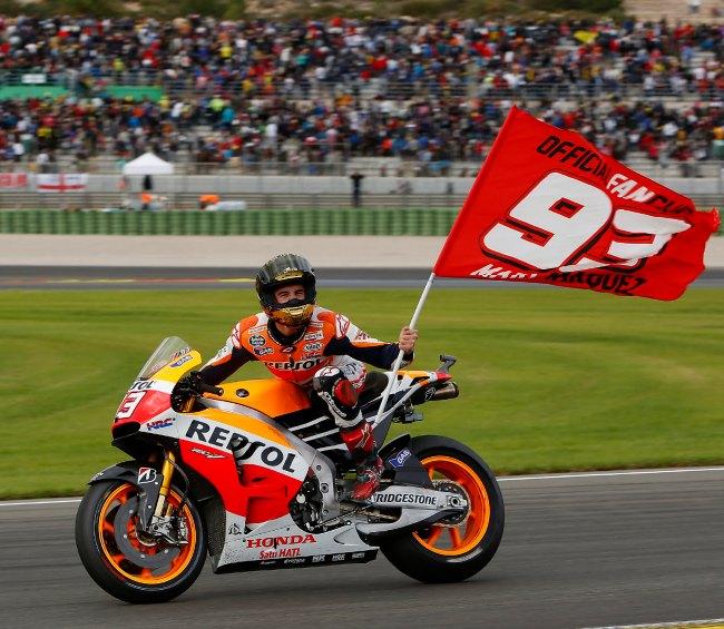 MotoGP Valencia 2014 - Marquez y Valentino los protagonistas
