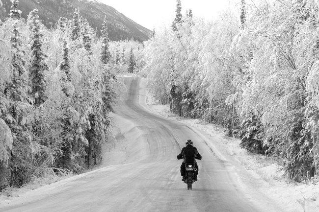 Consejos para ir en moto en invierno