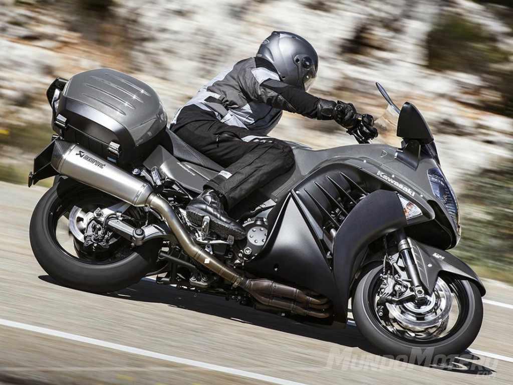 motos para viajar - Kawasaki 1400GTR