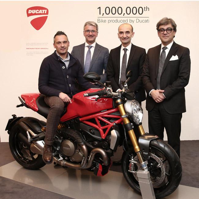 Motos Ducati - Se fabrica la unidad 1.000.000