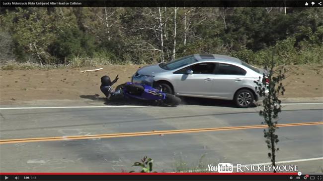Videos de accidente de motos - La carretera no es un circuito