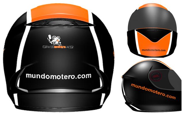 Personaliza tu casco de moto con NZI