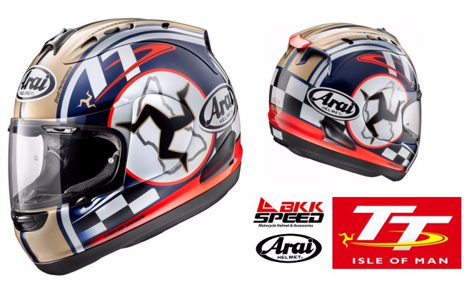 Casco Arai Isle of Man TT 2015 Limited Edition