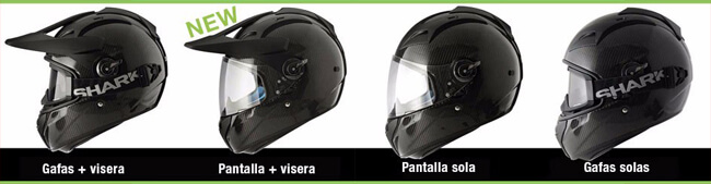 Shark Explore-R 2015. Casco de moto de carretera y off-road