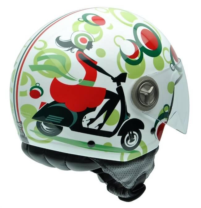 Cascos de moto para mujer