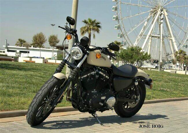 Prueba Harley-Davidson Iron 883 precio