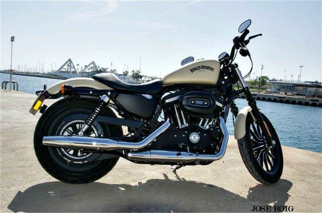 Prueba Harley-Davidson Iron 883