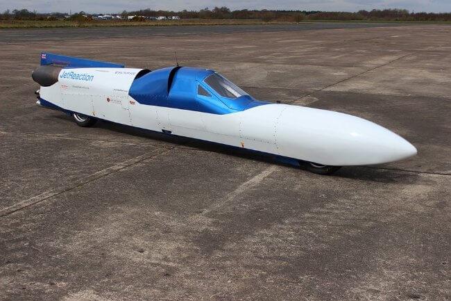 Jet Reaction - La moto más rapida del mundo a 640 kmh