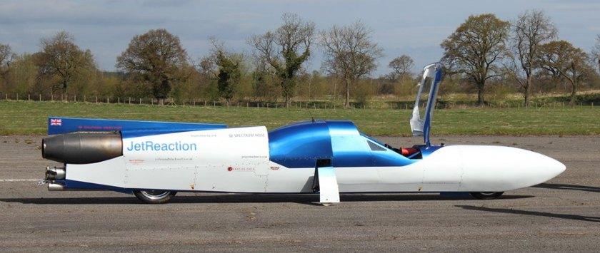 La moto más rapida del mundo Jet Reaction