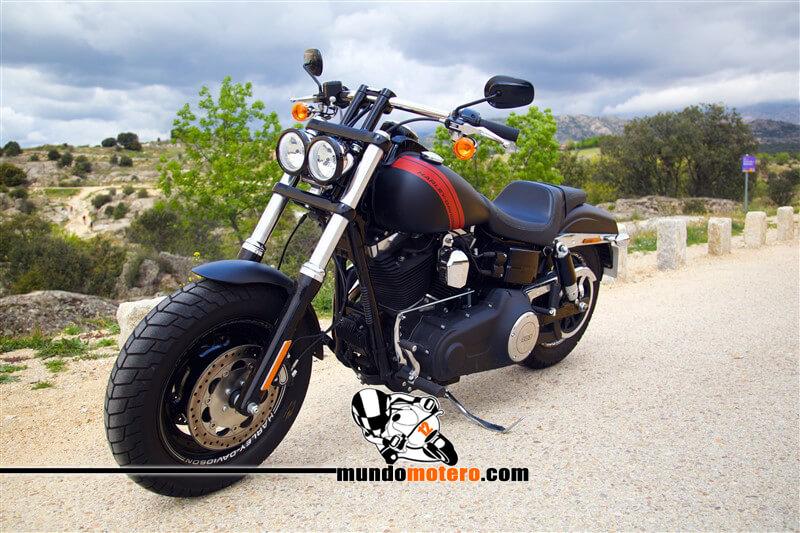 Prueba Harley-Davidson Fat Bob 2015 opiniones