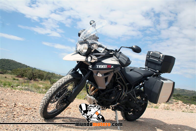 Prueba Triumph Tiger 800 XCx off-road