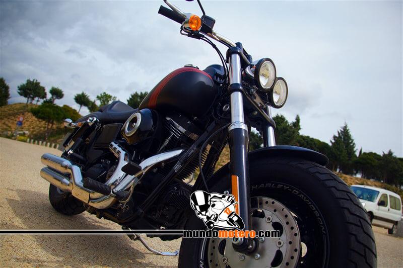 Prueba dinamica Harley-Davidson Fat Bob 2015