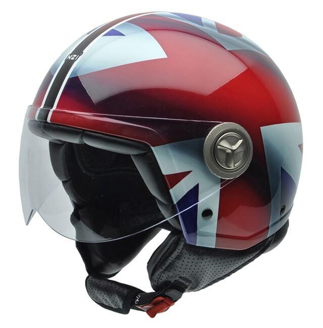 cascos de moto jet ZETA UNION JACK