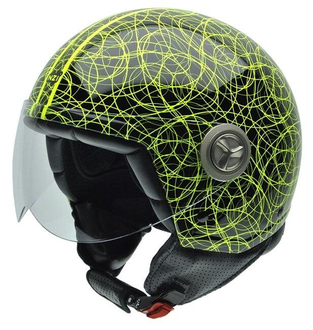 cascos de moto jet Zeta Graphics SCARABOCCHIO