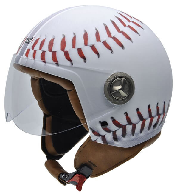 cascos de moto nzi Zeta Graphics BASEBALL