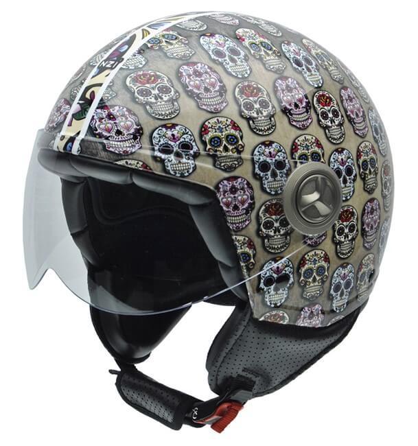cascos moto online ZETA MEXICAN SKULLS
