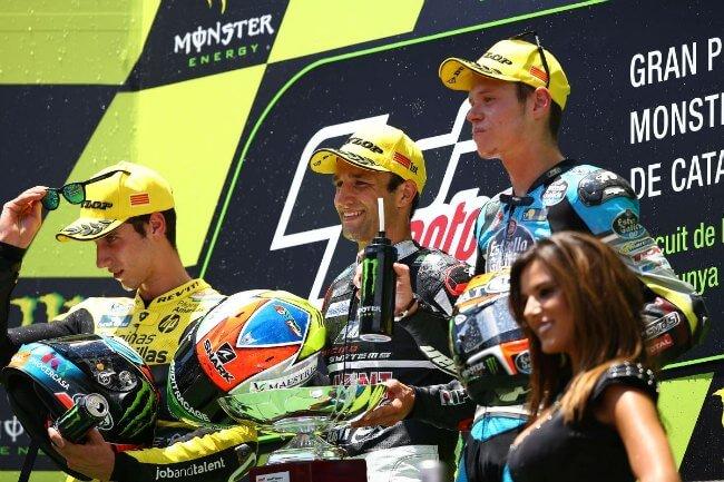 Clasificación general de Moto2 2015 tras Catalunya