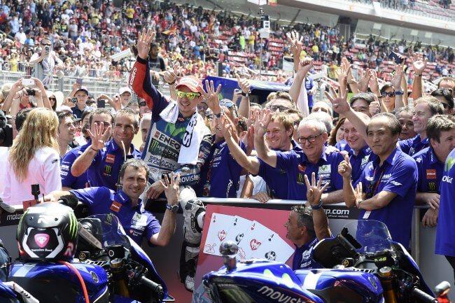 Clasificación general de MotoGP 2015 Catalunya