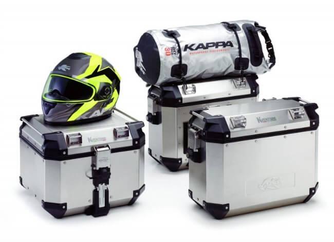 Maletas de aluminio para motos K-Venture de Kappa