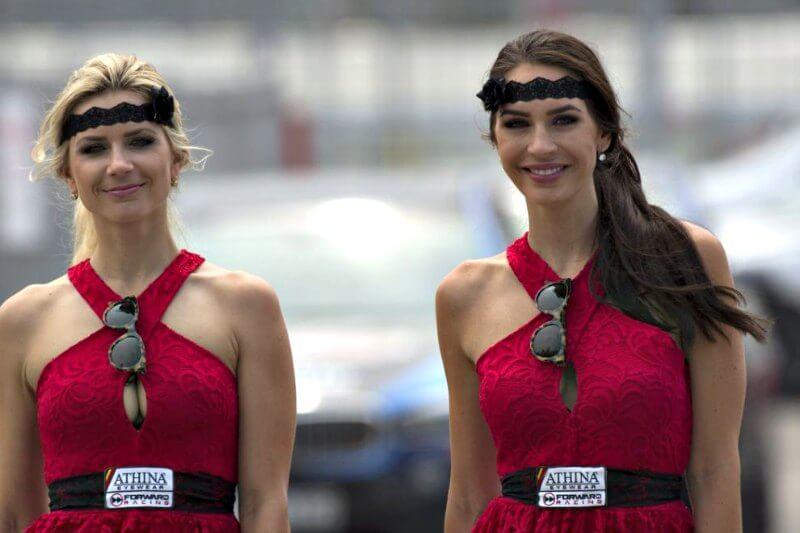 Paddock girls MotoGP Catalunya 2015