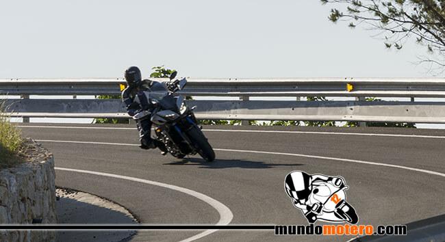 Prueba Yamaha MT-09 Tracer consumo