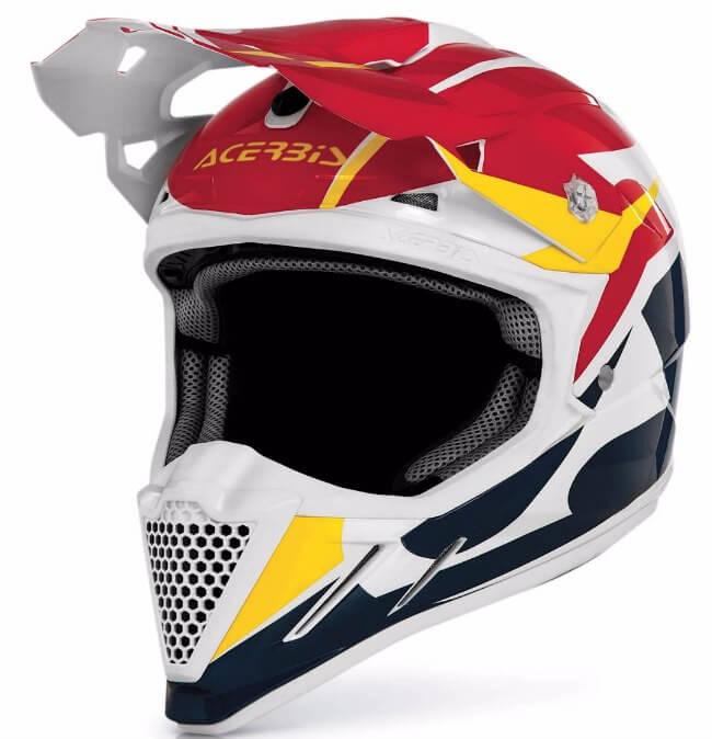 motocross cascos