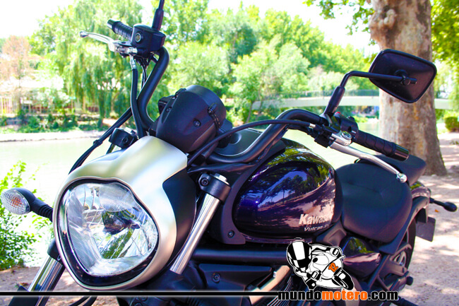 Kawasaki Vulcan S motos custom carnet a2