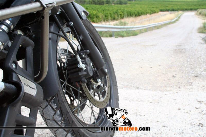 Prueba Suzuki V-Strom 650 XT ABS off-road