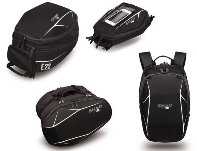 bolsas semi-rígidas para moto