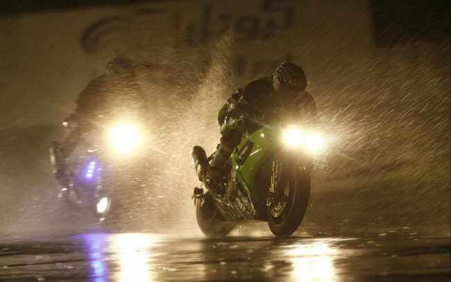 Consejos para conducción en moto con frio