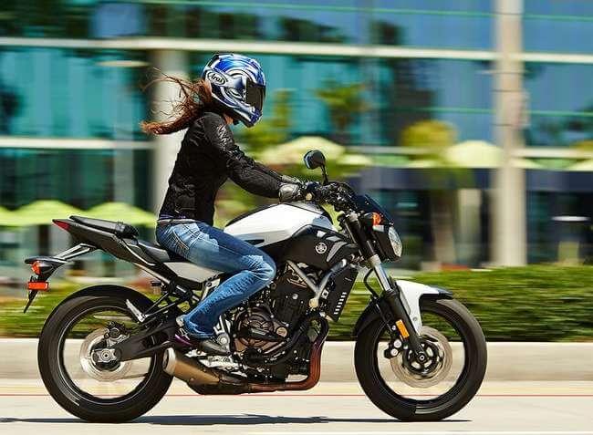 moto de mujer