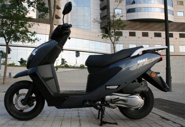 Daelim Dart NC125 scooter